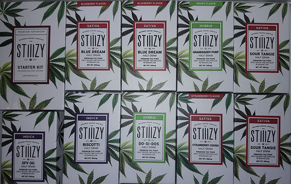 Stiiizy Vape Cartridges