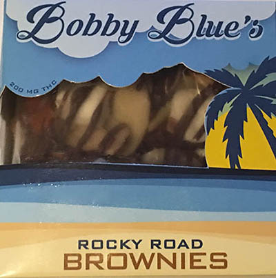 bobby Blue's rocky road brownies