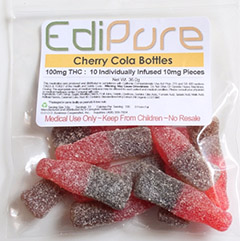 Edipure Cherry Cola Bottles
