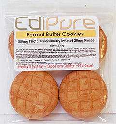 Edipure Peanut Butter Cookies
